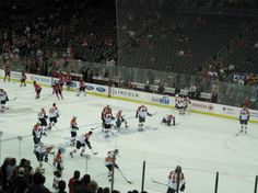 Great view sent in from a happy customer at the Devils vs Flyers Game in NJ!