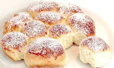 Έχετε ένα αβγό, αλεύρι και ζάχαρη; Φτιάξτε αυτό το τέλειο γλυκό (vid) - Mothersblog.gr Sweets Recipes, Cooking Recipes, Coconut Flour Recipes, Biscuit Bread, Sweet Dough, Egg Recipes For Breakfast, Easy Bread, Artisan Bread, Croissants