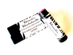 Personalized ZEBRA Lip Balm Party Favors by MajesticSoaps, $1.00
