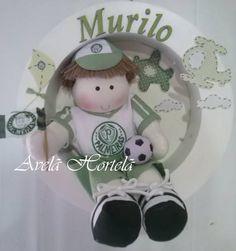 Nicho redondo com boneco personalizado de time de futebol mede 30cm de diâmetro. Com led ! R$ 150,00