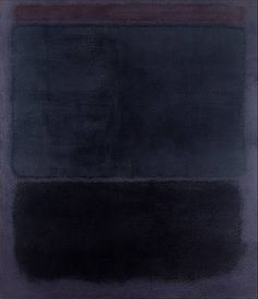 Mark Rothko, Untitled, 1960 Oil on canvas Overall: 79 ½ × 69 ¼ in. × cm) Virginia Museum of Fine Arts © 1998 Kate Rothko Prizel & Christopher Rothko/Artists Rights Society (ARS) Mark Rothko, Rothko Art, Tachisme, Franz Kline, Joan Mitchell, Jackson Pollock, Camille Pissarro, Art Blanc, Robert Rauschenberg