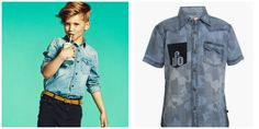 Still going out draping your little lads in Casual T-Shirts? Shirt trends to guide you on how to dress the little men in our lives to look handsome.