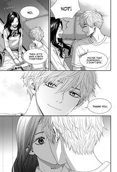Jidokhage Kkeureoango Jidokhage Kiseuhago Manga Anime, Anime Kiss, Manga Art, Anime Art, Anime Couples Drawings, Anime Couples Manga, Manga Josei, Anime Fanfiction, Anime English