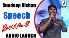 Sundeep Kishan Speech At Aatadukundam Raa Audio Launch -Venusfilmnagar