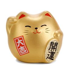 Japanese Feng Shui Good Fortune Lucky Cat