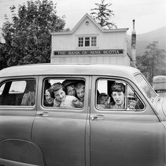 Photo by full-time Chicago nanny Vivian Maier, whose hobby was photography. Undated, Canada