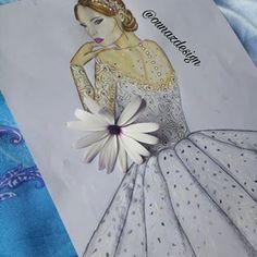 Azzi (@ounazdesign) • Instagram photos and videos Donald Cobain, Bridal Dresses, Fashion Art, Aurora Sleeping Beauty, Fashion Dresses, Photo And Video, Disney Princess, Disney Characters, Videos