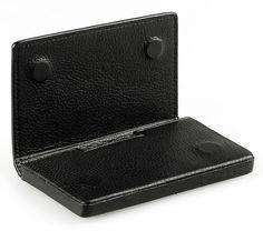 PIQUADRO Black Nappa Leather Card Case PP1173MO N | eBay