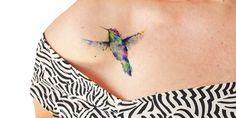 Hermosos tatuajes temporales que tienes que hacer tuyos