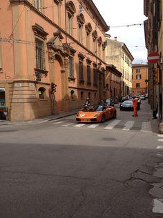 Orange #Lamborghini Gran Giro 2013 #Lambo50