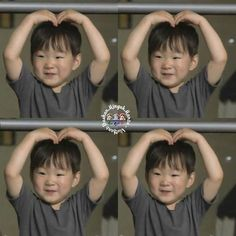 Saranghe- Daehanie Triplet Babies, Superman Kids, Korean Tv Shows, Song Daehan, Song Triplets, Korean Babies, Cute Faces, The Little Mermaid, Cute Kids