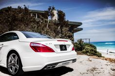 """Behind the Scenes with Mercedes-Benz Presents Designer Vitamin A by Amahlia Stevens and the SL63 AMG in Malibu, California preparing for Mercedes-Benz Fashion Week SWIM. Share a picture of your """"Best Summer"""" moment and you could win a 13-month lease on an SLK: http://mbenz.us/bestsummer"""