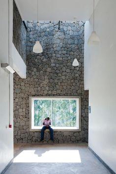 matériaux naturels : pierre Butaro Hospital, Rwanda