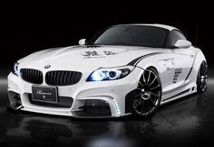 BMW Z4 White Wolf by Rowen 1    http://www.omniauto.it/foto/16134/bmw-z4-white-wolf-by-rowen/233608#
