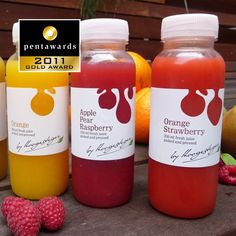 Gold Pentaward 2011  Beverages  Soft drinks & juices  Brand: Hoogesteger – Fresh Fruit Juice