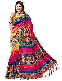 c08199351e21e e-VASTRAM Women s Mysore Art Silk Saree with Blouse Piece  (NSTASSELMULTI Multicolour) Explore the collection of beautifully designed  sarees from e-VASTRAM.