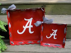 Super Cute Trays - great for a gift or tailgating.
