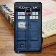 Police Box Tardis Doctor Who Samsung Galaxy Note Edge Case