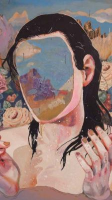 beautiful faceless painting by unknown artist Aesthetic Iphone Wallpaper, Aesthetic Wallpapers, Tumblr Emo, Psychedelic Drugs, Aesthetic Lockscreens, Homescreen Wallpaper, Beauty Art, Surreal Art, Cute Wallpapers