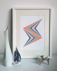 Abstract Art Print  Donar by beebleboy on Etsy, $25.00