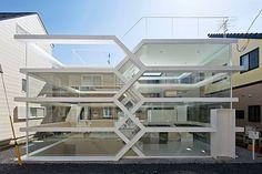 S-House - стеклянный прозрачный дом.