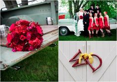Country Wedding Red