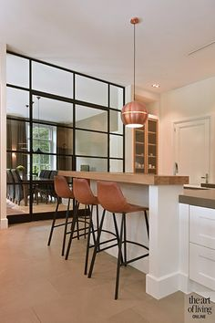 Home Living Room, Kitchen Remodel, Kitchen Design, Sweet Home, Villa, Contemporary, Table, Inspiration, Furniture
