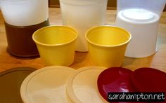 How to remove paint from plastic containers (to reuse them, of course!)