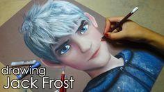 Speed Drawing: Jack Frost | Diana Díaz DO GOOD!!