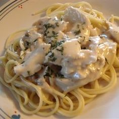 Slow Cooker Italian Chicken Alfredo Allrecipes.com