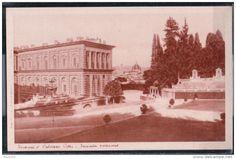 ♕ℛ. Firenze, Palazzo Pitti, facciata posteriore