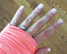 Jamberry nail giveaway! And review.  White tip and white romance.