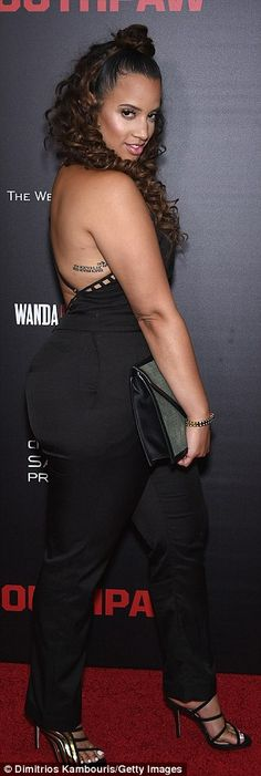 Curly locks! Orange Is the New Black's Dascha Polanco - who plays new mother Dayanara Diaz...