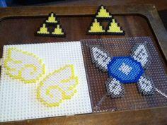 Perler beads zelda stuff c;