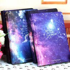 Горячие Продажи Galaxy Science Fiction Изображение Крышки Серии 13*18 см Handcover Творческий Молочные Записной книжки журнала Sketchbook