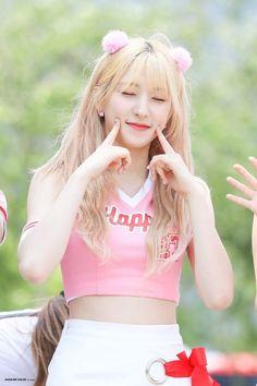 WJSN - Eunseo Kpop Girl Groups, Korean Girl Groups, Kpop Girls, Lee Jin, Kim Hyun, Air Force Blue, Cheerleading Outfits, Fandom, Red Velvet Seulgi