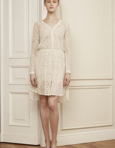 Robe blanche Bedford - BLESSUS