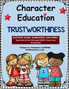 Printables Trustworthiness Worksheets character education lessons that teach kids trustworthiness it is important children learn how to be honest and trustworthy these fun activities