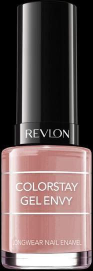 NEW SHADES Revlon ColorstayGel Envy™Nail Enamel. 2 Steps to Total Gel Envy5 Free Formula No Formaldehyde, Dibutyl Phthalate (DBP),Toluene, Camphor, or Formaldehyde Resin. My Shade: PERFECT PAIR.