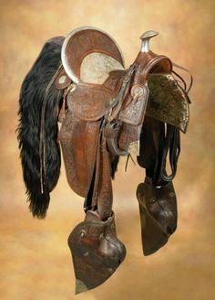 Main & Winchester saddle.  ca. 1880's