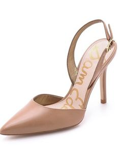 petty sling back pumps