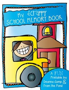 End of the Year Memory Book Super easy, no fuss! The book includes a cover and ten pages.