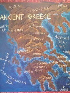 Paros, Chalkboard Drawings, Chalk Drawings, Greek History, Ancient History, Greece Mythology, Greece Map, 6th Grade Social Studies, Fifth Grade