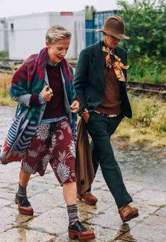 Ana Gimeno Brugada And Bettina Oldenburg Unique Fashion Mature Fashion Womens Fashion Stylish