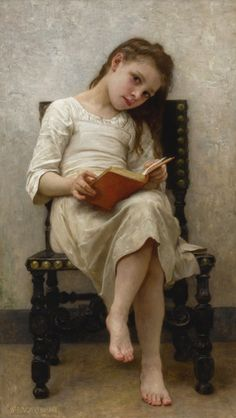 View LE LIVRE DE PRIX by William-Adolphe Bouguereau on artnet. Browse upcoming and past auction lots by William-Adolphe Bouguereau. William Adolphe Bouguereau, John William Godward, European Paintings, Old Paintings, Beautiful Paintings, Reading Art, Girl Reading, Munier, Academic Art
