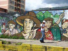 Street art, Venezuela by Asje, via Flickr