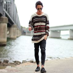 More looks by Christian Chou: http://lb.nu/christianchou  #edgy #street #vintage