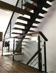 Contempory collection - Prestige Metal - Creating and manufacturing high quality stair balusters Staircase Metal, Wood Railings For Stairs, Interior Stair Railing, Floating Staircase, Railing Design, Staircase Design, Staircase Contemporary, Modern Stairs, Glass Stairs