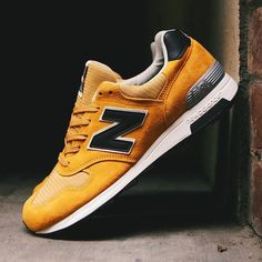 New Balance M1400CL - Tags: sneakers, low-tops, yellow suede