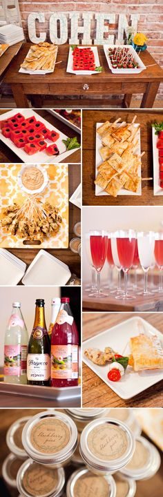 Yummy Foodies Library Themed Baby Shower http://ow.ly/aO2u1